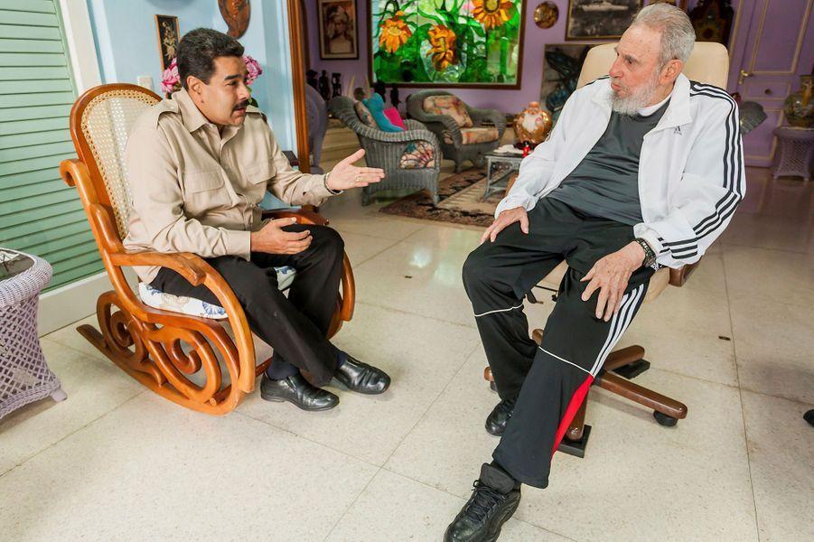 Avec le président vénézuélien Nicolas Maduro
