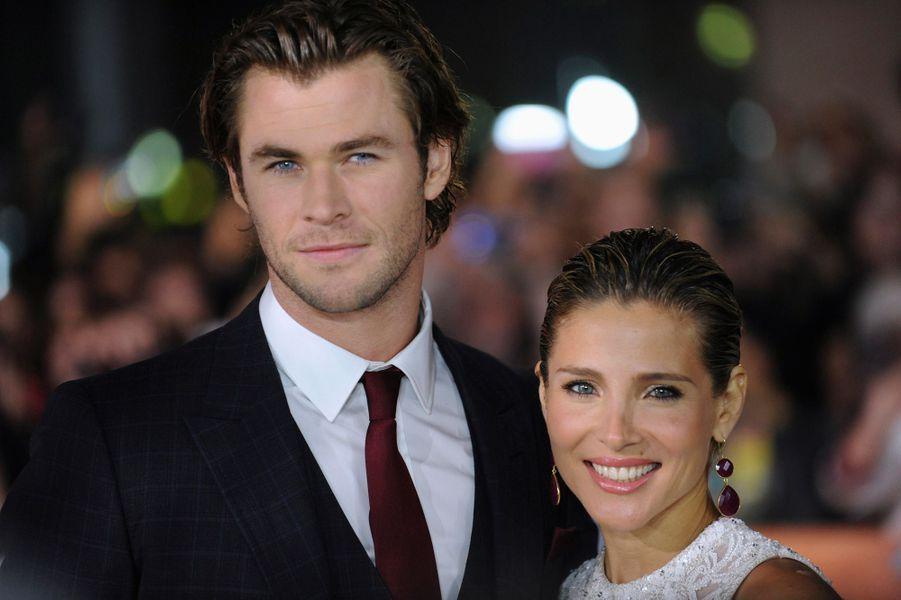 "Chris Hemsworth et Elsa Pataky pour ""Rush"""
