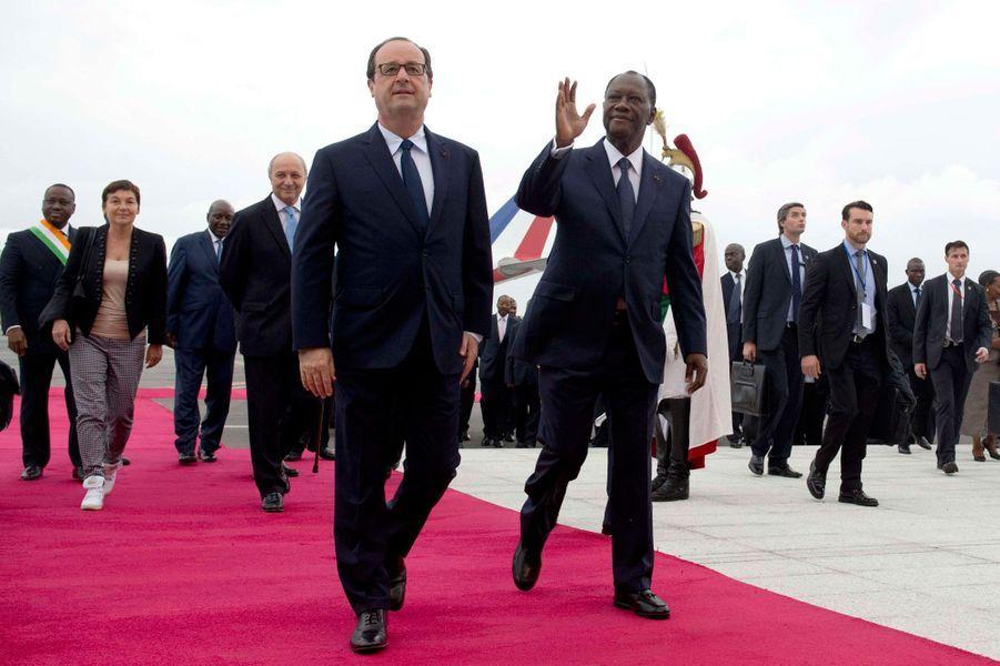 Tapis rouge pour François Hollande !