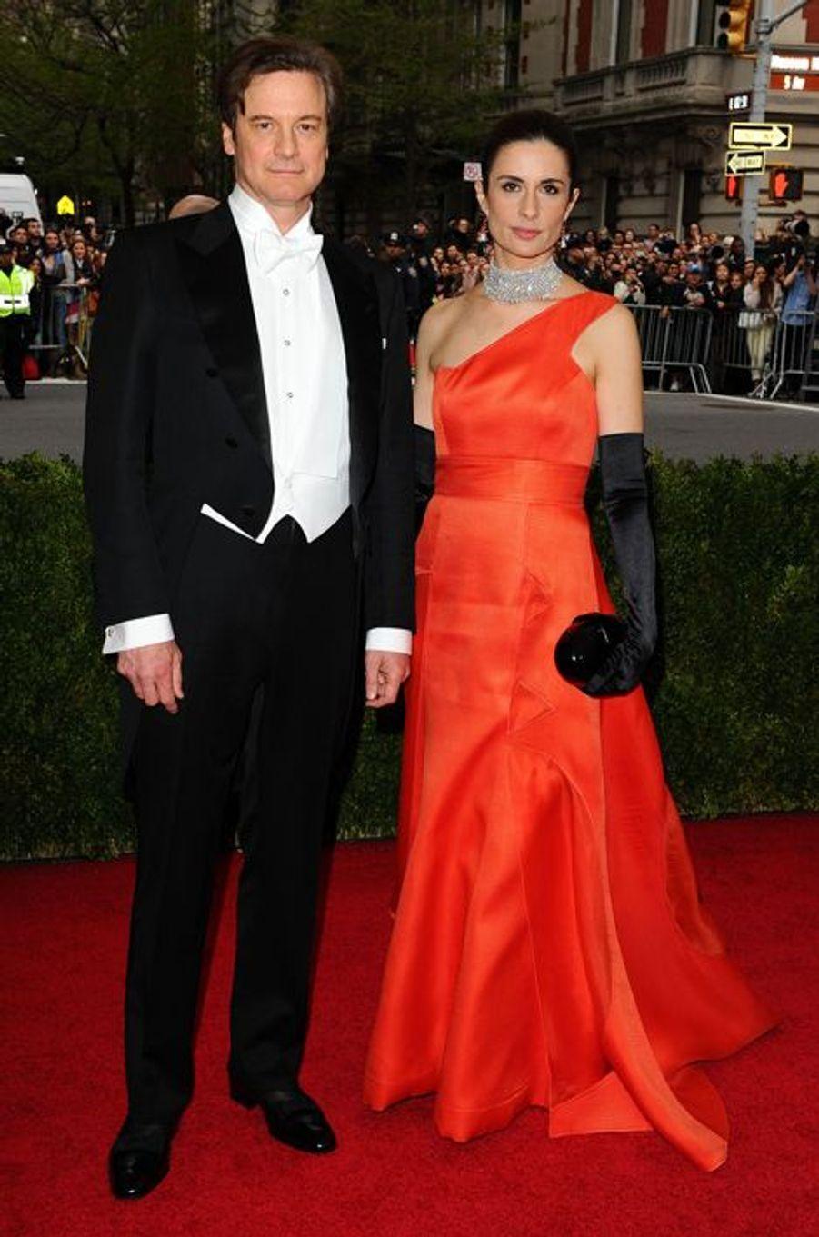 Colin et Livia Firth