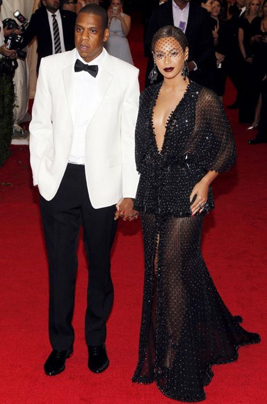 Jay-Z et Beyoncé (en Givenchy)