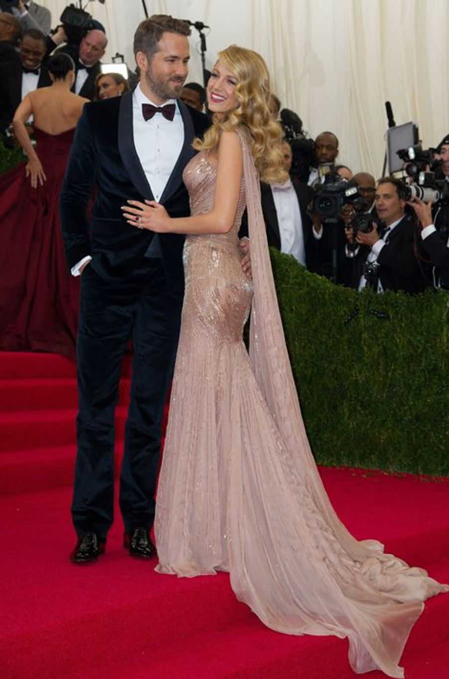 Ryan Reynolds et Blake Lively (en Gucci)
