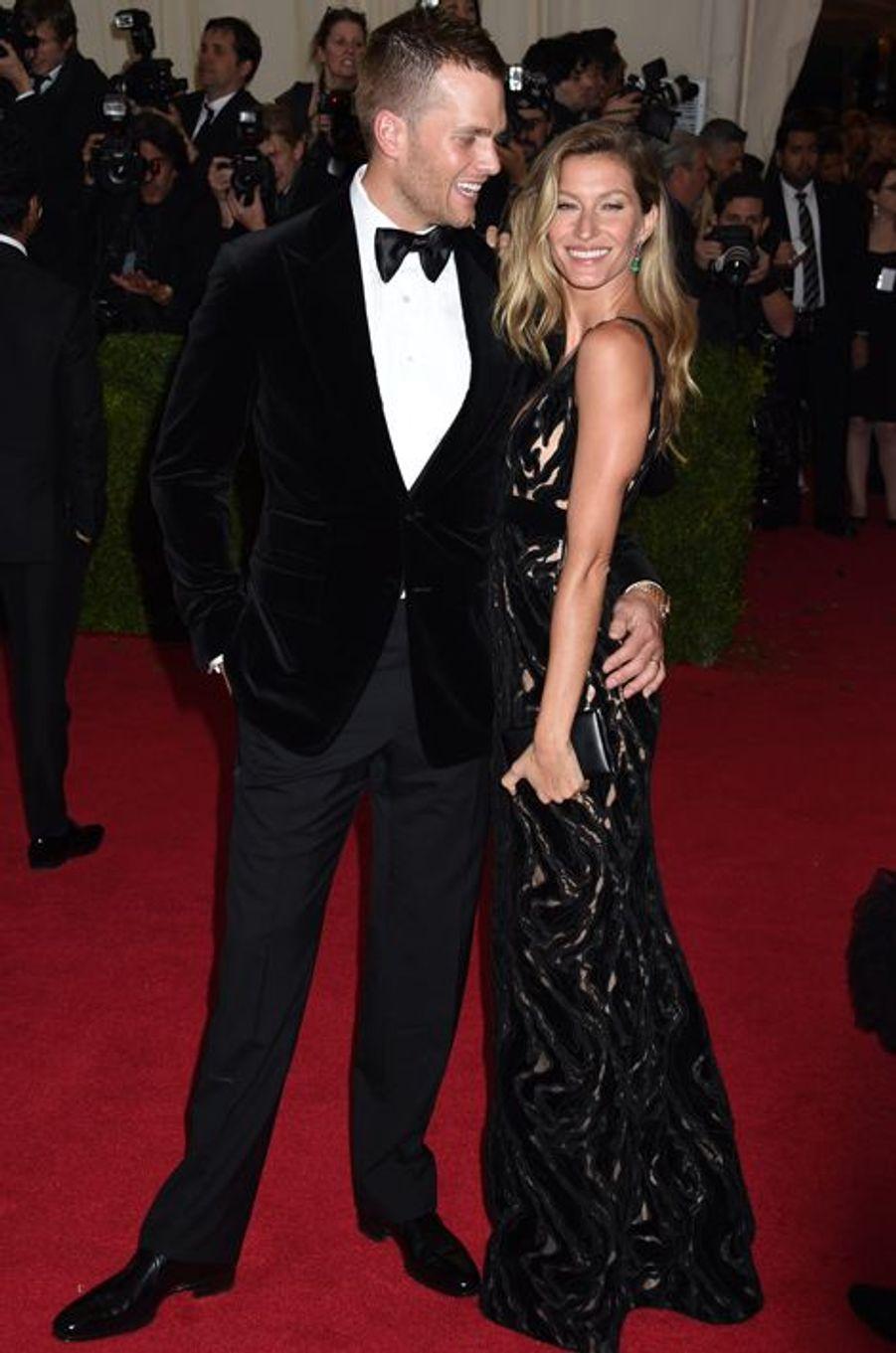Tom Brady et Gisele Bündchen (en Balenciaga)