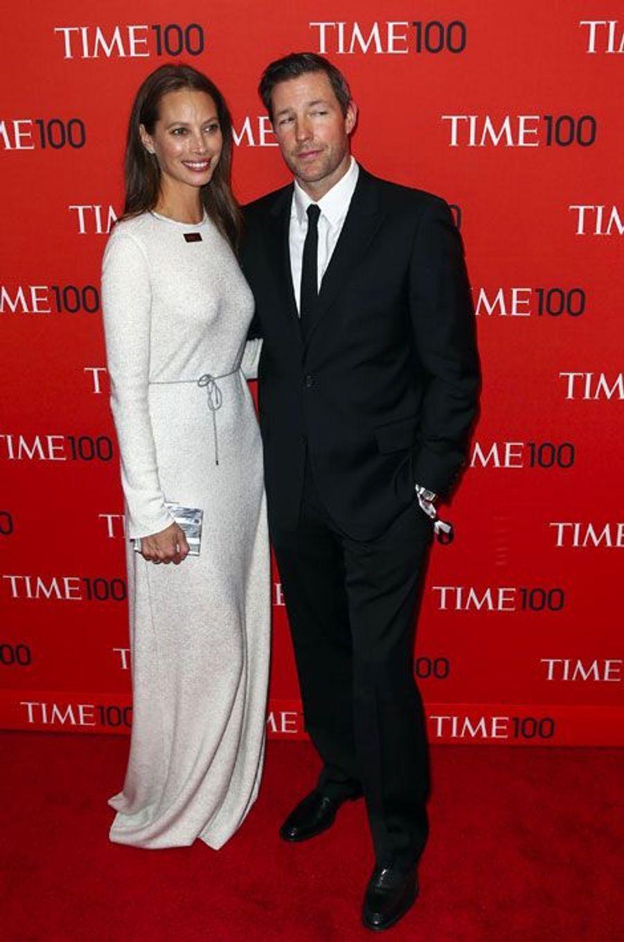 Christy Turlington et son mari Ed Burns