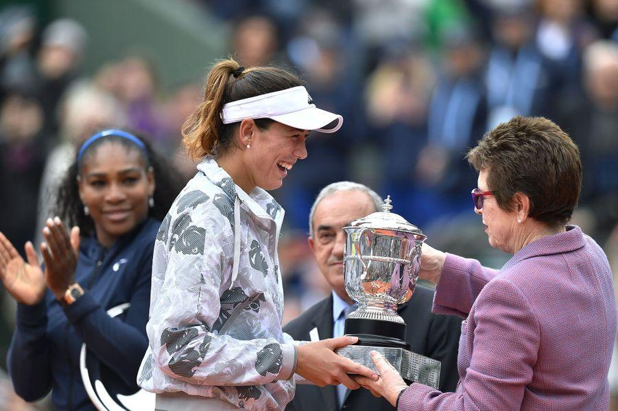 Garbiñe Muguruza, nouvelle reine de Roland-Garros