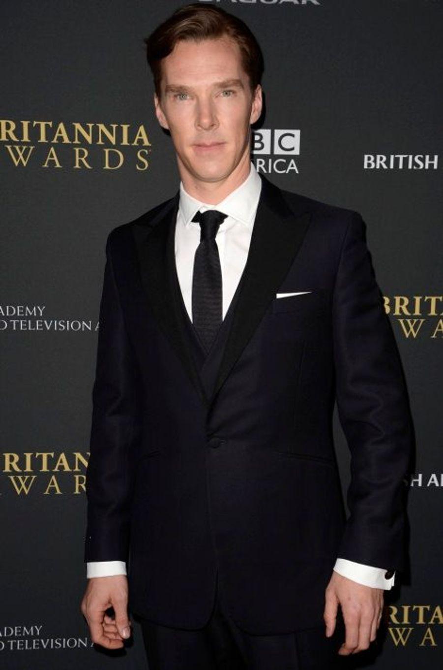 Benedict Cumberbatch, reparti avec le Britannia Award for British Artist of the Year