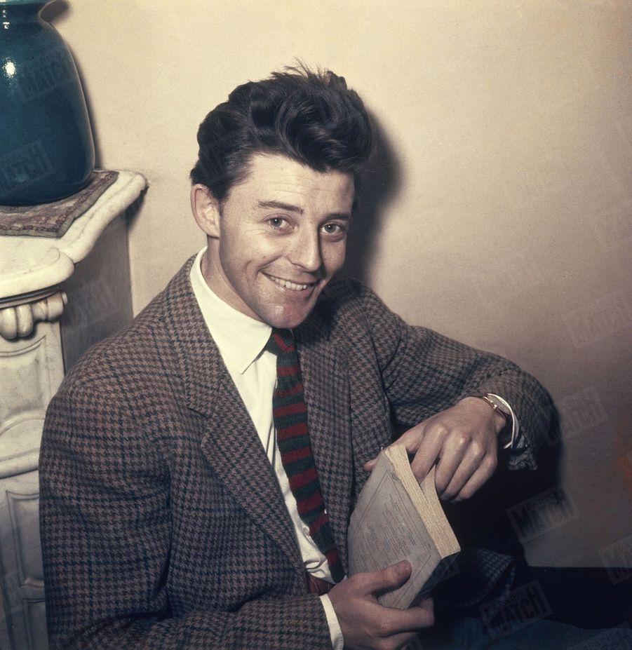 Gérard Philipe en mars 1950.