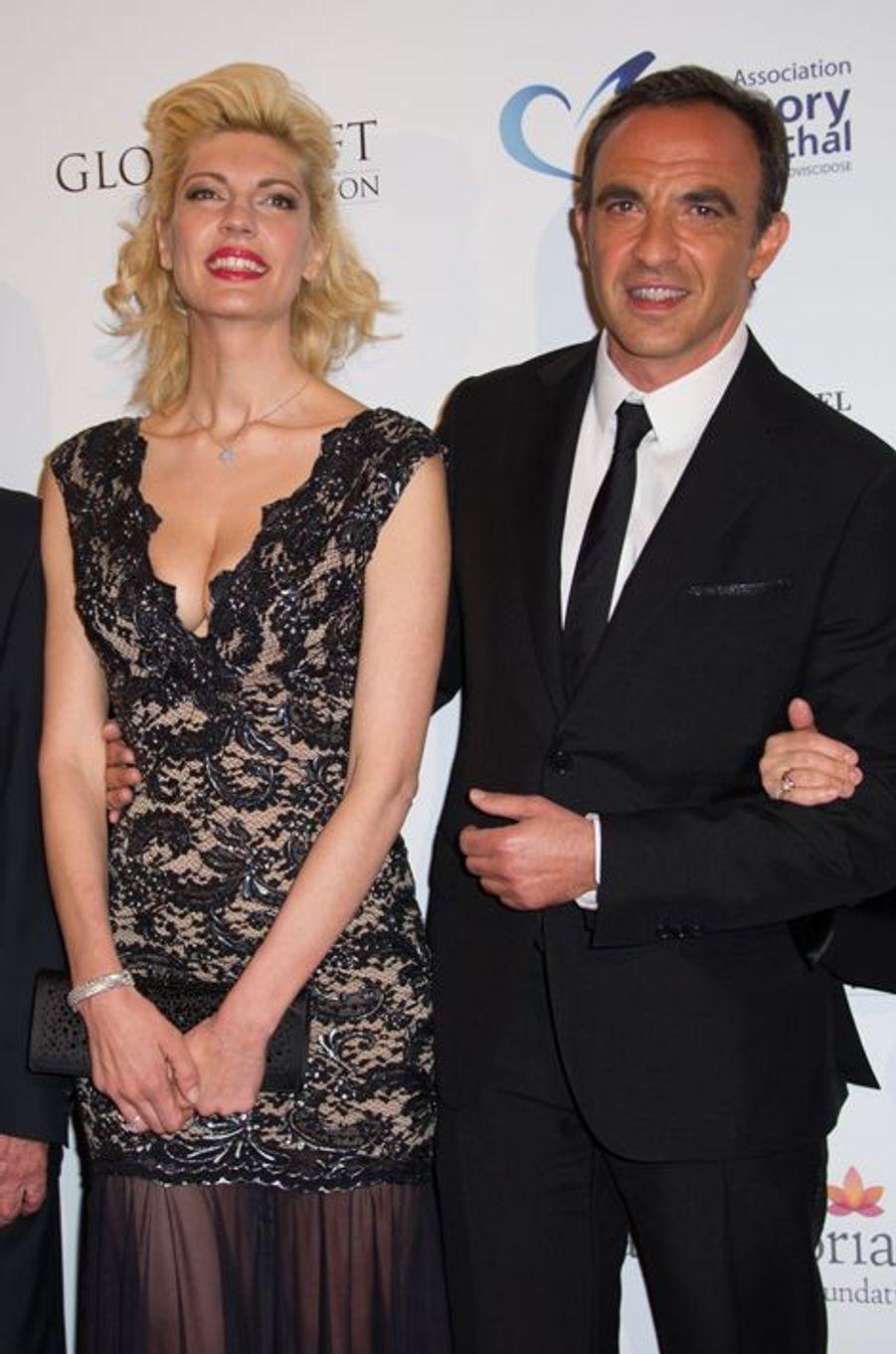 Nikos Aliagas et sa compagne Tina