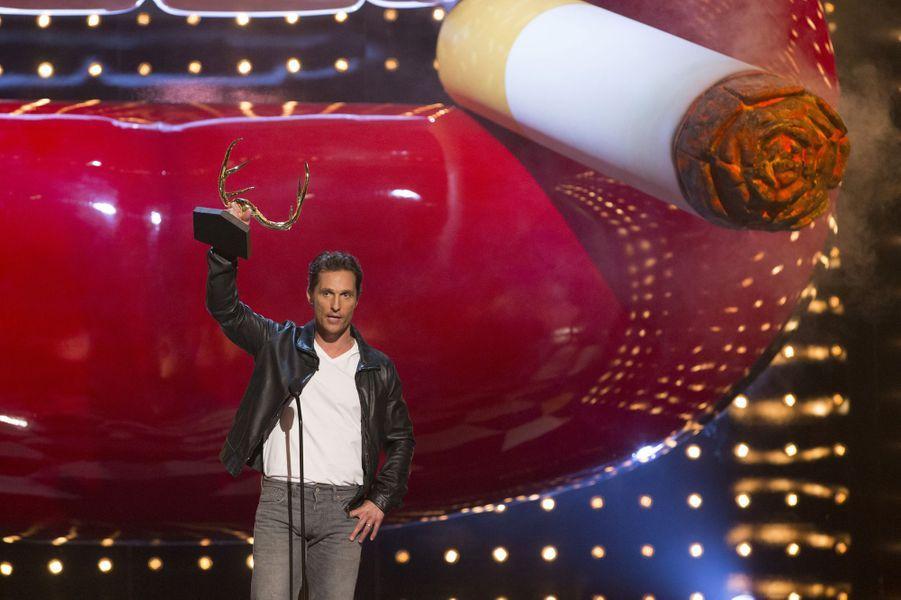 Matthew McConaughey, élu Mec de l'année