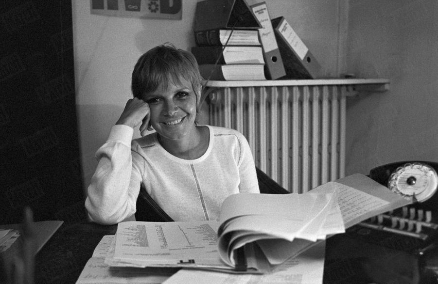 Annie Fargue, productrice de la comédie musicale«Hair» en août 1969.
