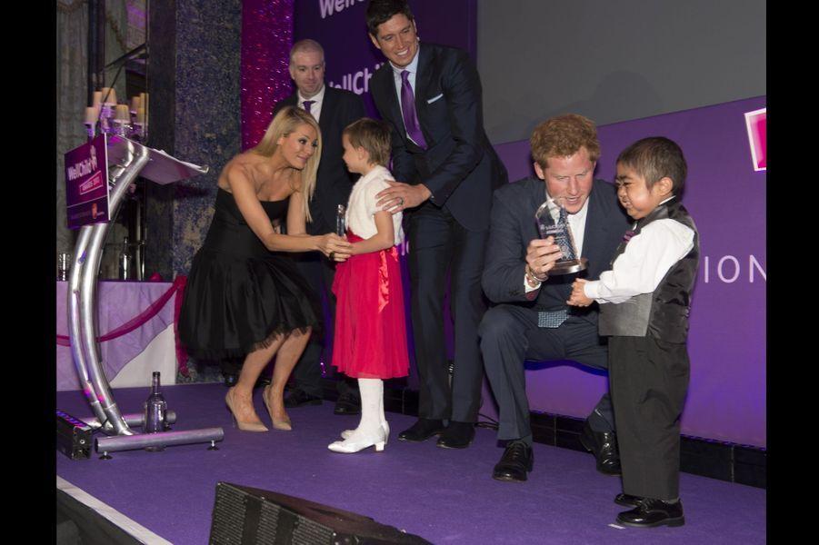 Harry, un mécène impliqué auprès des enfants