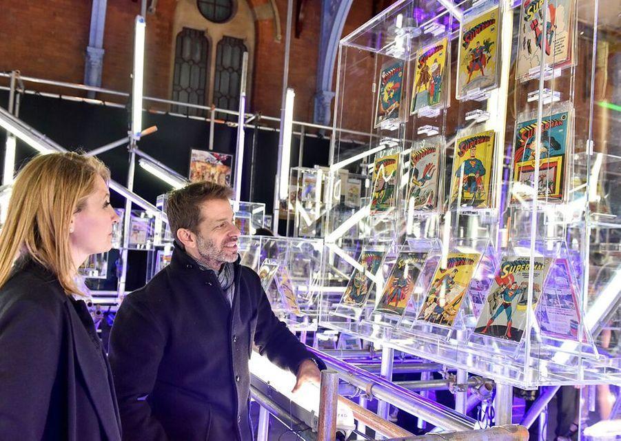 Zack Snyder et son épouse.