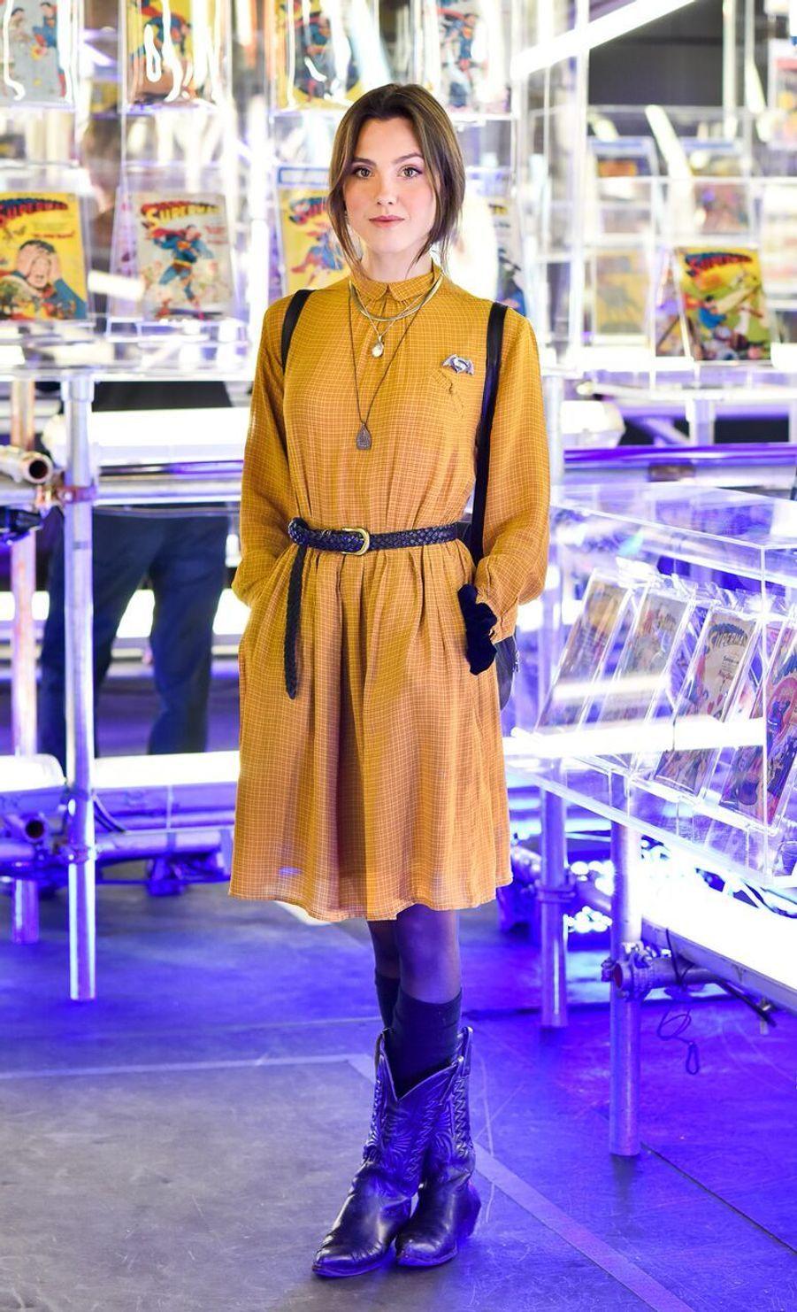 L'actrice britannique Poppy Drayton.