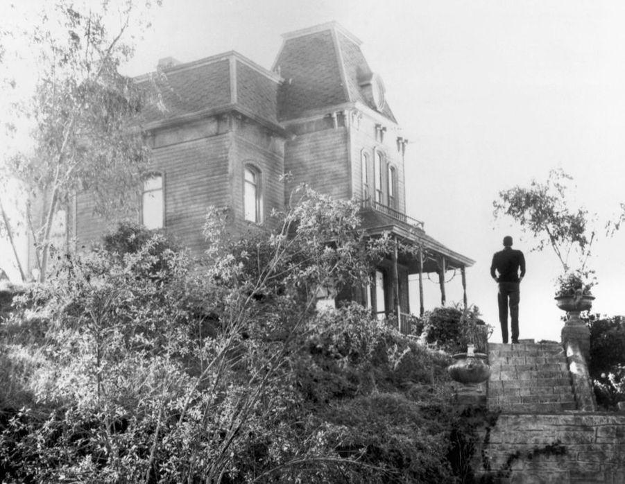 Le sinistre et fameux manoir de la famille Bates, dans« Psychose », en 1960.