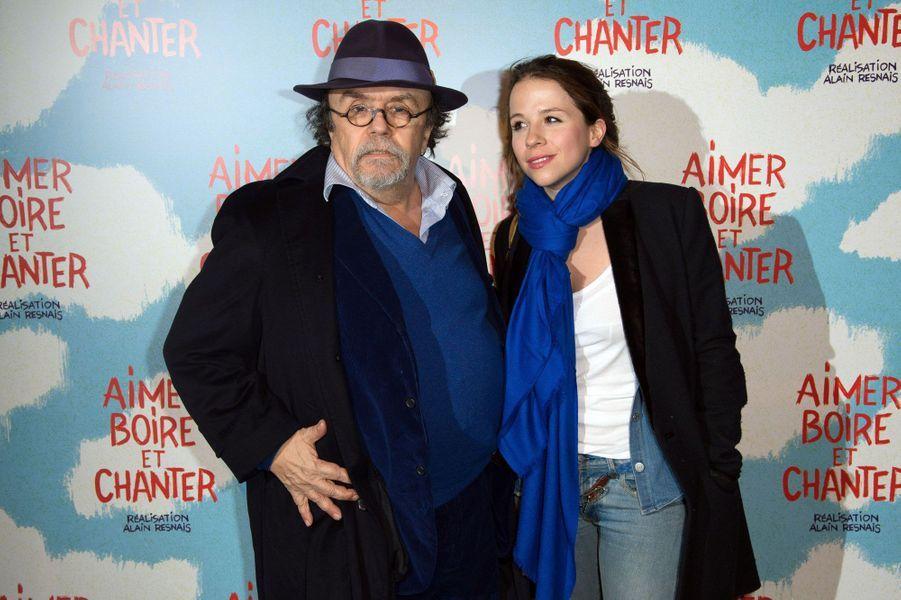 Jean-Michel Ribes et sa fille Alexie