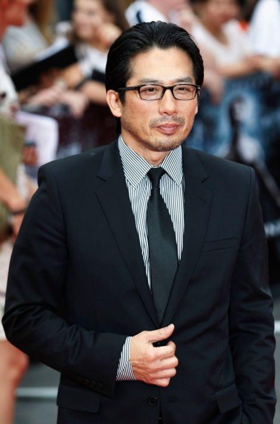 L'acteur Hiroyuki Sanada