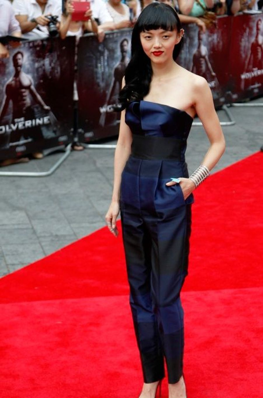L'actrice Rila Fukushima