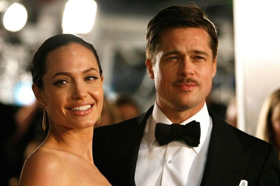 Avec Brad Pitt.