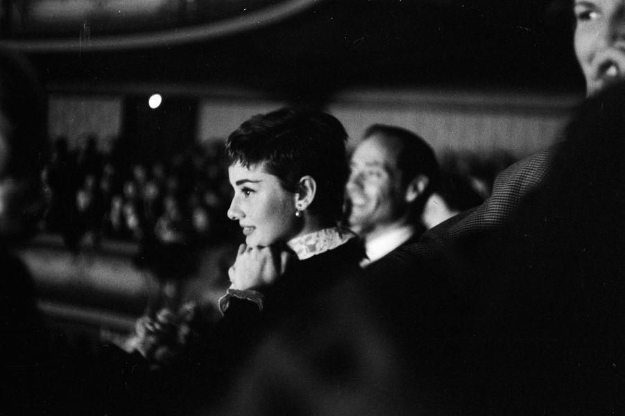 Audrey Hepburn et Mel Ferrer aux Pays Bas en 1954