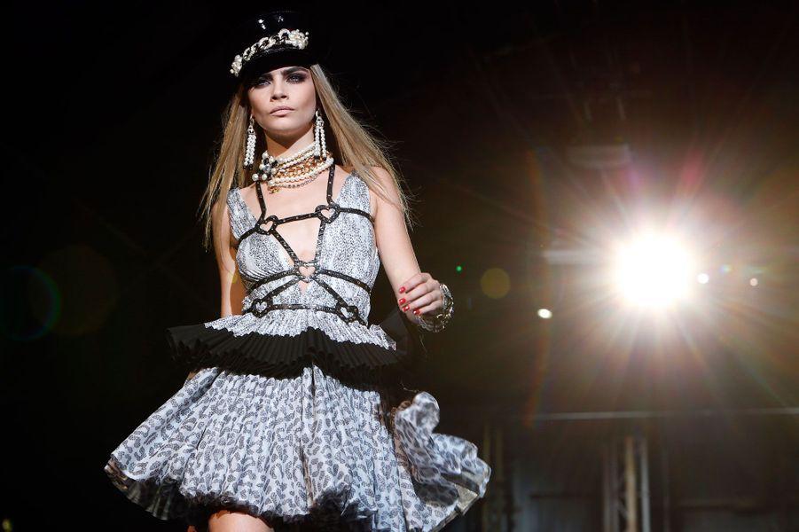 A la fashion week de Milan.