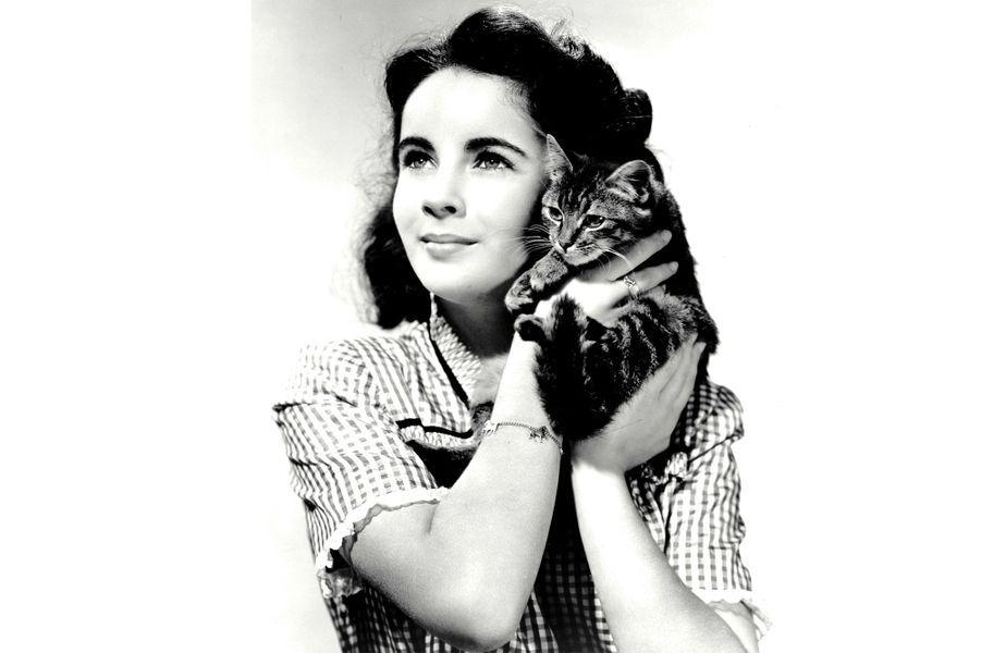 Elizabeth Taylor dans les années 40