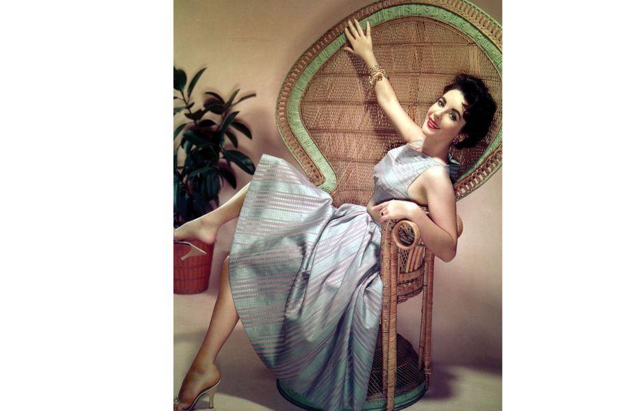 Elizabeth Taylor dans les années 50