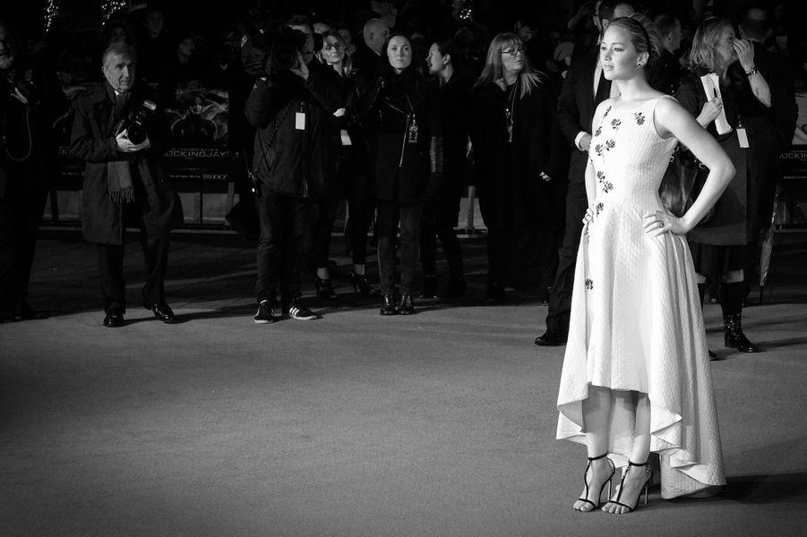 """AVP à Londres de """"Hunger Games Partie 1 : La Révolte"""", 2014"""