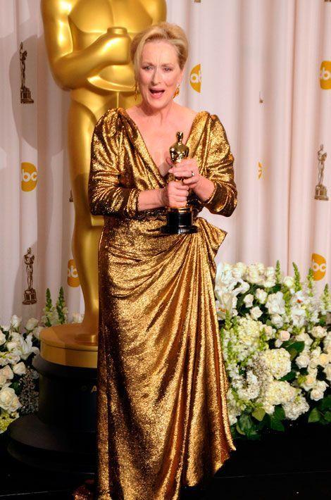 Meilleure actrice, Oscar 2012