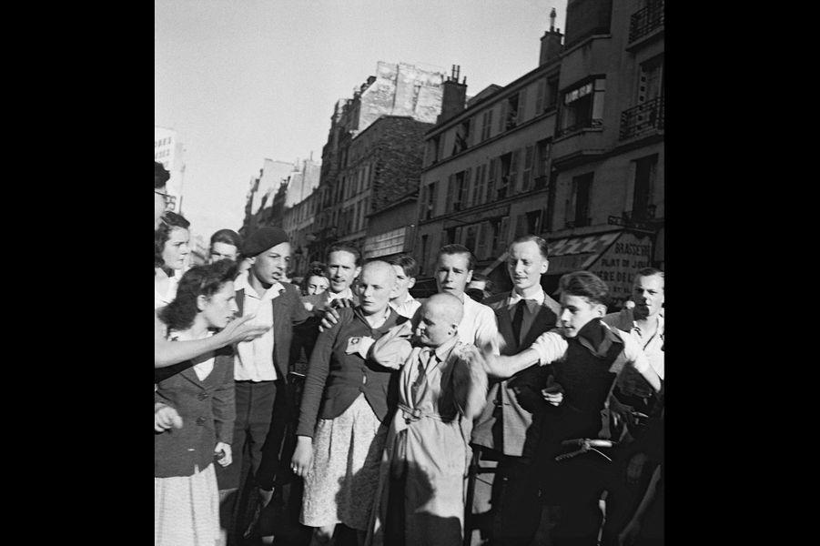 Le 25 août 1944, les premières femmes sont tondues rue de Passy