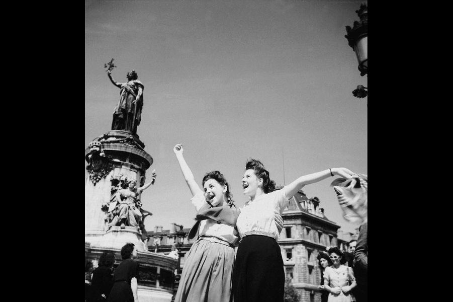 Le 26 août 1944, place de la République