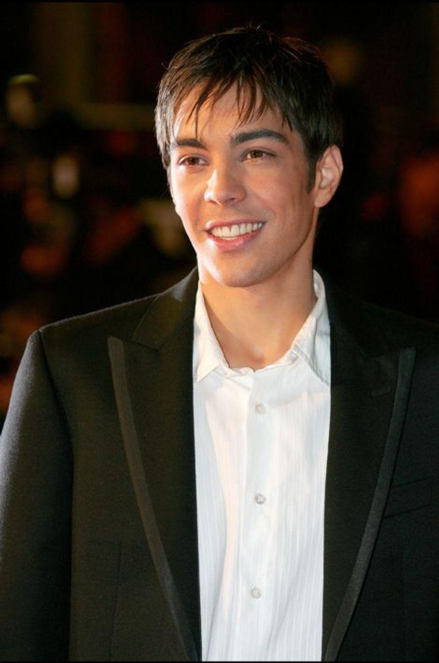 Grégory Lemarchal aux NRJ Music Awards 2005