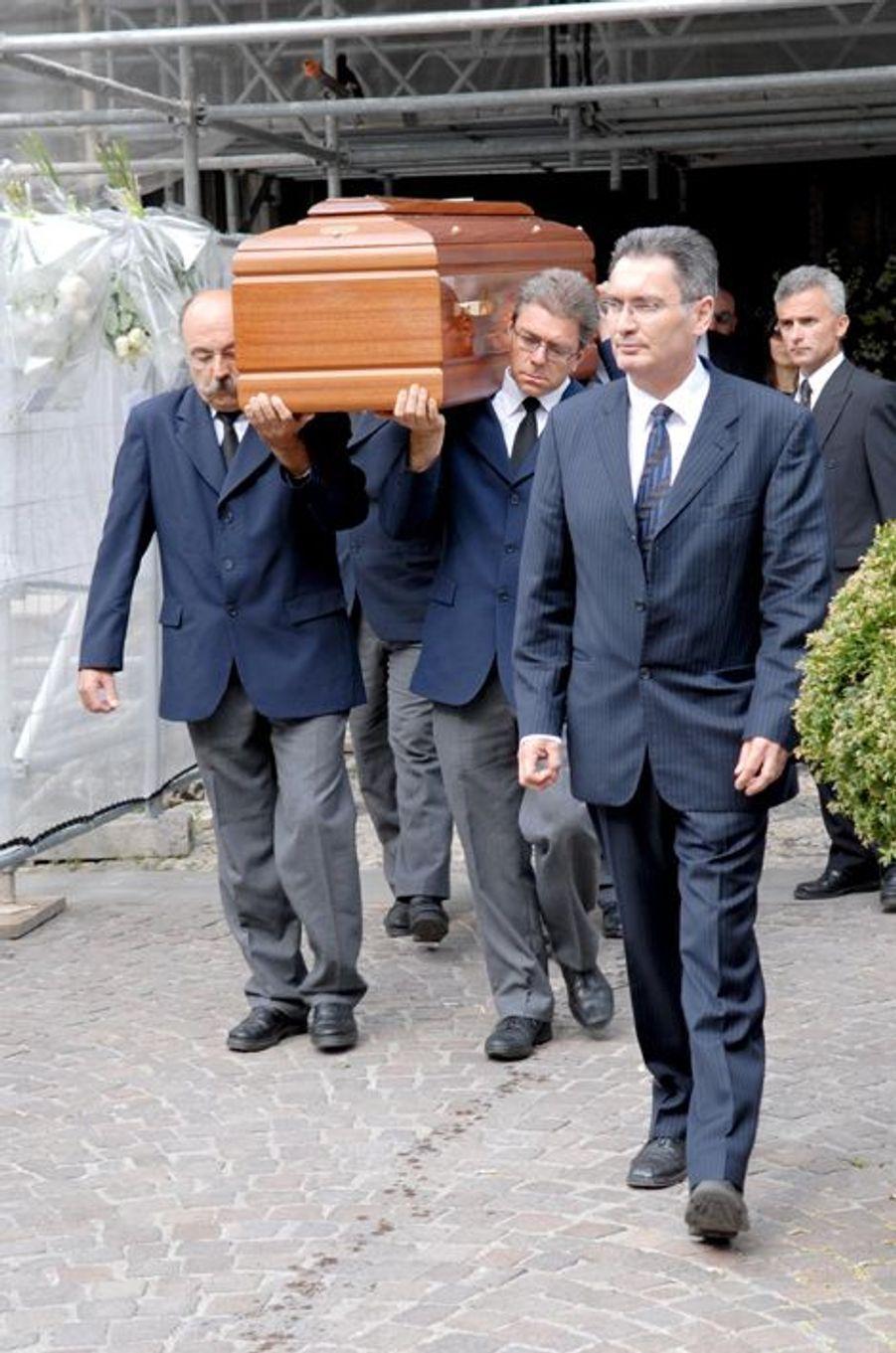 Les funérailles de Grégory Lemarchal, à Chambéry