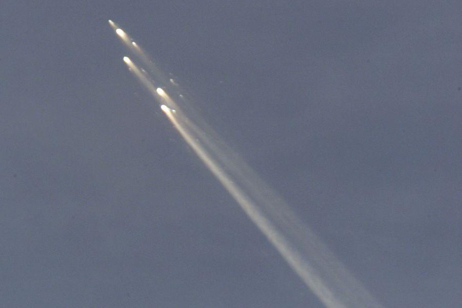 La station spatiale Mir s'est désintégrée lors de son entrée dans l'atmosphère