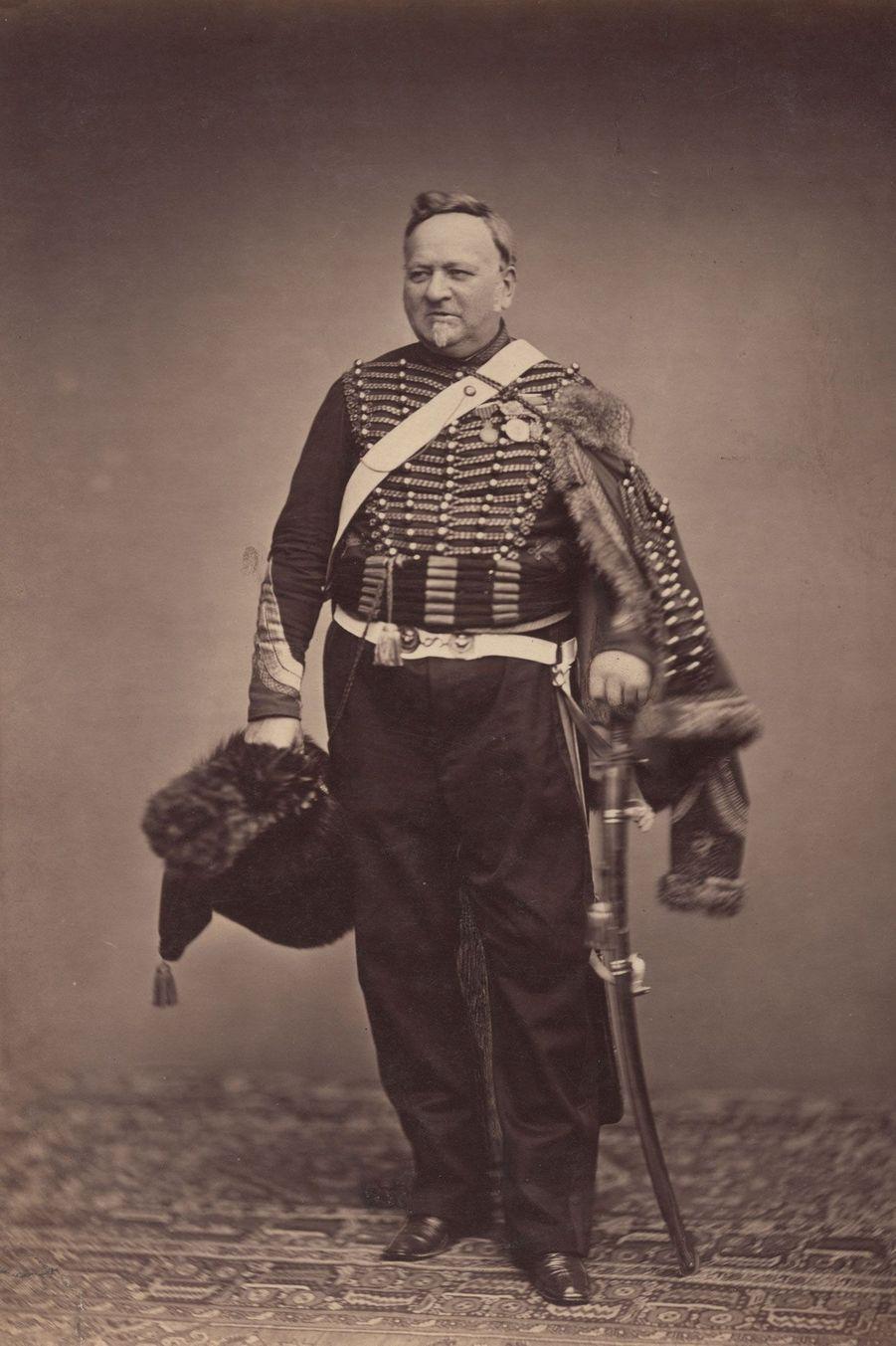 L'administrateur des troupes. Monsieur Delignon s'occupait de l'approvisionnement des troupes : nourriture, vêtements, munitions.