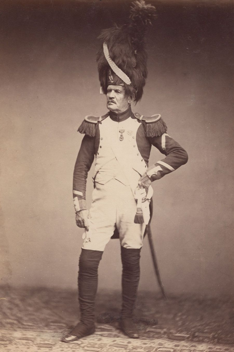 Ces hommes ont combattu à côté de Napoléon