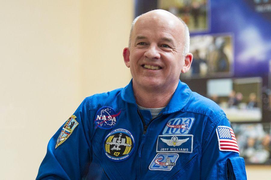 L'astronaute Jeff Williams est arrivé sur l'ISS