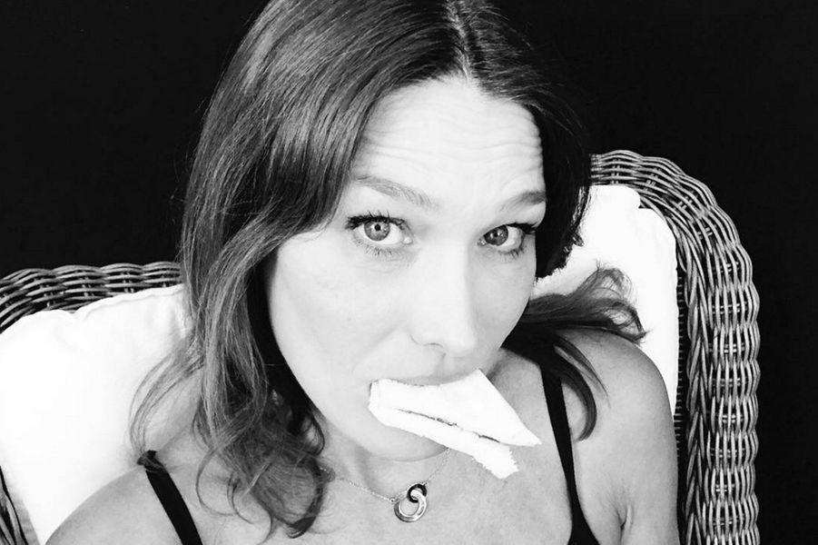 Carla Bruni-Srakozy sur Instagram