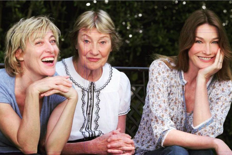 """""""Les blondes et moi"""", Valeria Bruni Tedeschi, Marisa Borini et Carla Bruni"""