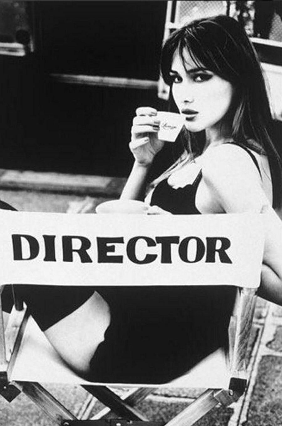 Shooting photo de Carla Bruni en 1995