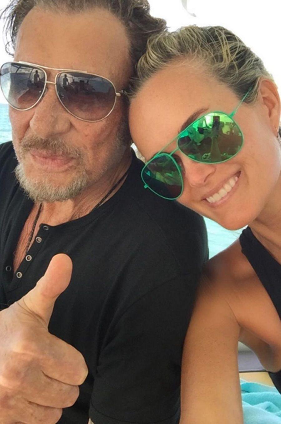 Laeticia et Johnny Hallyday plus amoureux que jamais