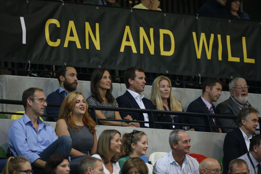 James et Pippa Middleton, Peter et Autumn Phillips aux Invictus Games