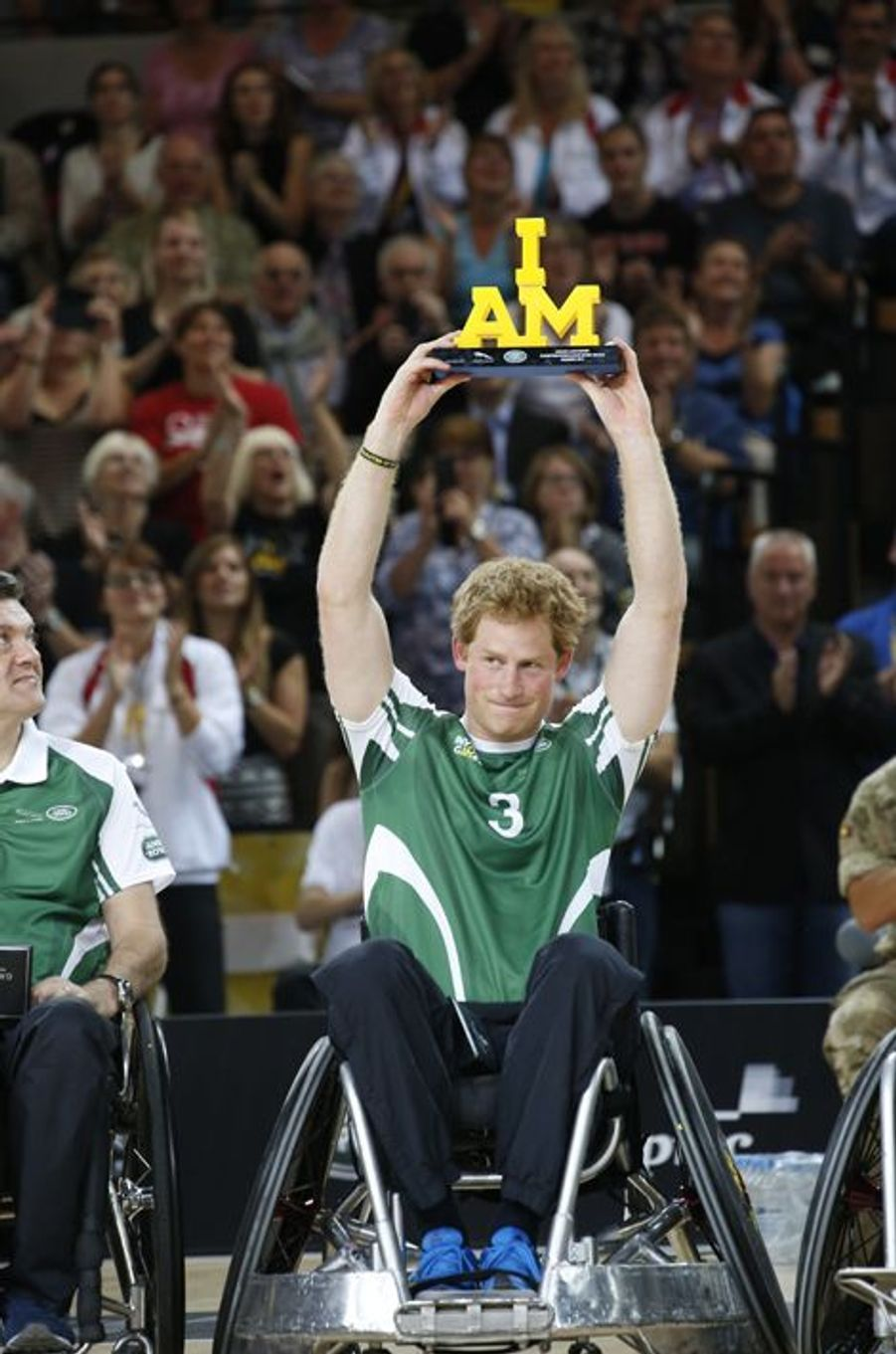 Le prince Harry aux Invictus Games