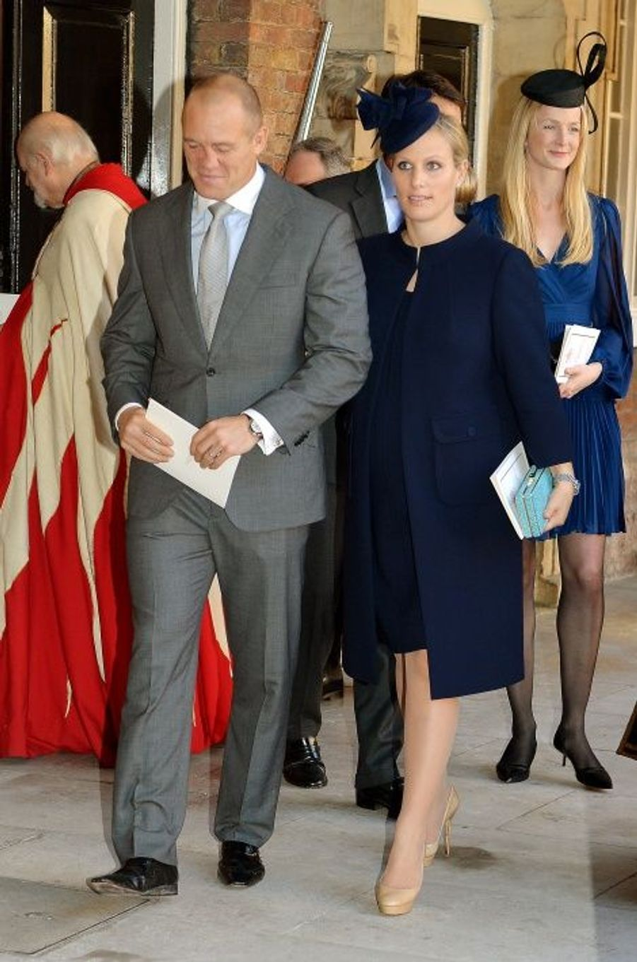 Mike Tindall et Zara Philipps, marraine