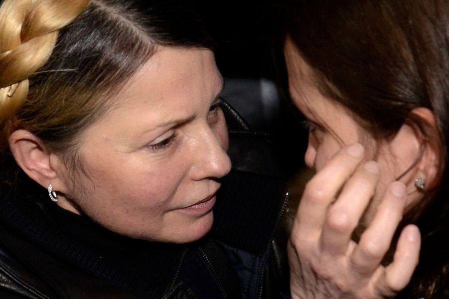 Timochenko libérée, l'émotion en images