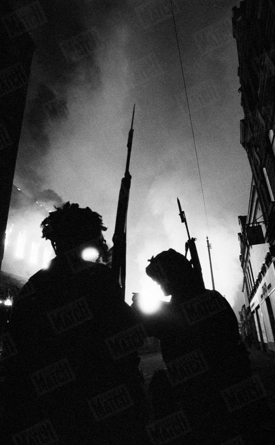 Belfast, au lendemain des émeutes d'août 1969.