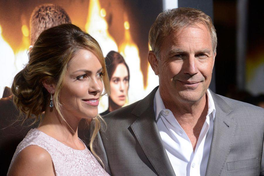 Kevin Costner et sa femme Christine Baumgartner