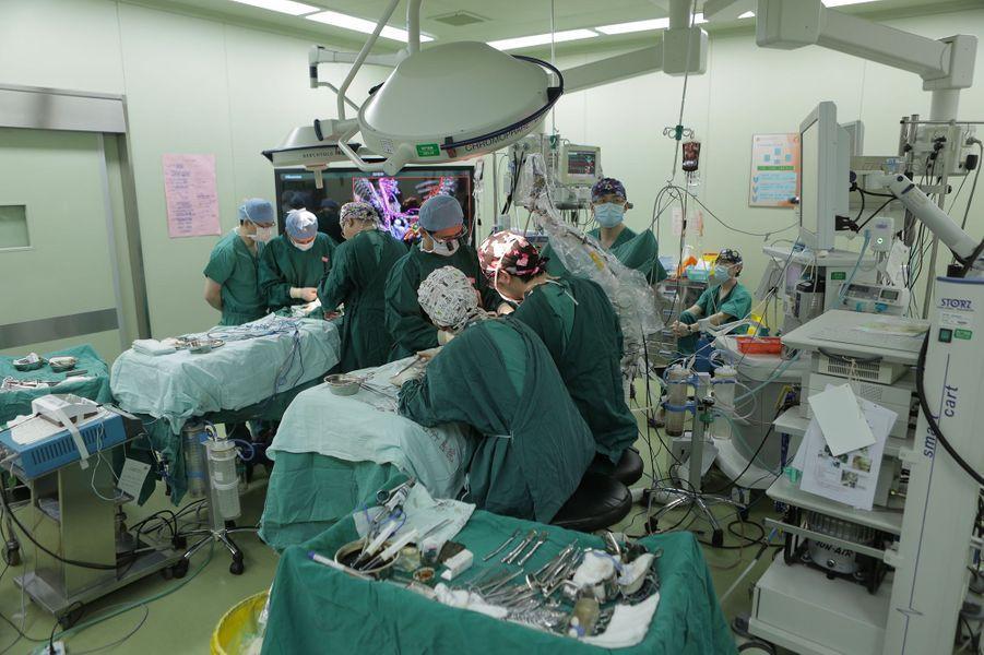 Yu Ce Yuan et Yu Ce Xiang pendant l'opération