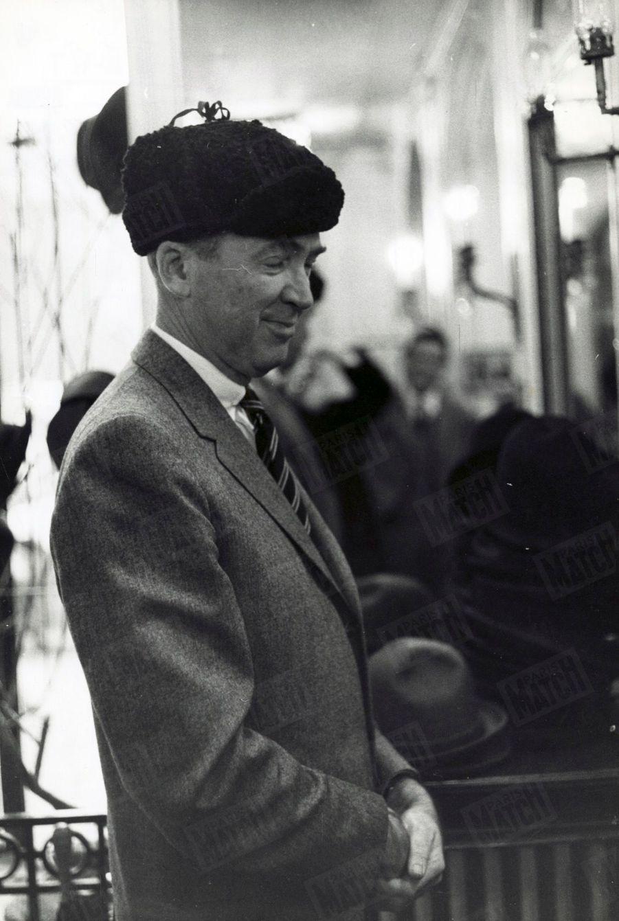 « James Stewart en Michel Strogoff » - Paris Match n°553, daté du 14 novembre 1959.