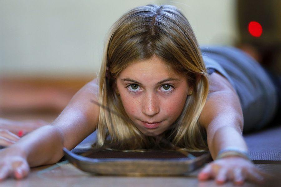 Jaysea, 12 ans et prof de yoga