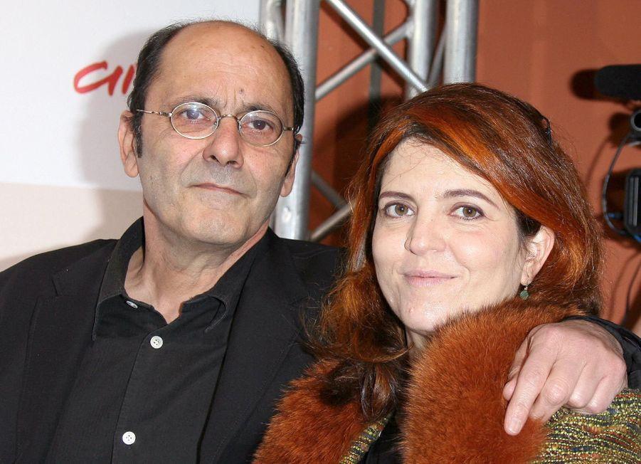Jean-Pierre Bacri et Agnès Jaoui à la première de « Parlez-moi de la pluie », au Festival du Film de Rome, en octobre 2008.